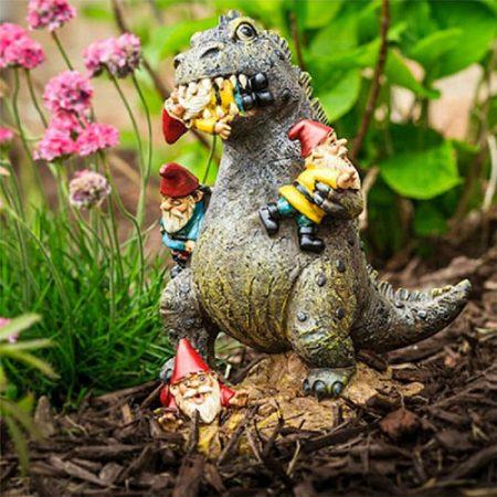 Godzilla Gartenzwerk - Geschenke für Gartenzwergliebhaber