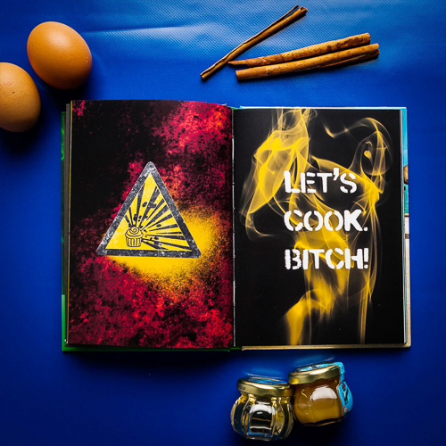 Breaking Bad Fanartikel Backbuch
