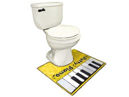Toiletten Klavier als Geschenk für Leute