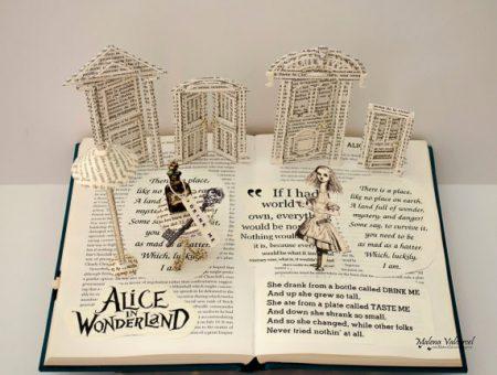 Buchkunst verschenken: Alice im Wunderland
