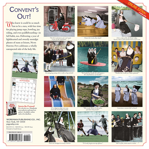 Nuns Having Fun Kalender 2017