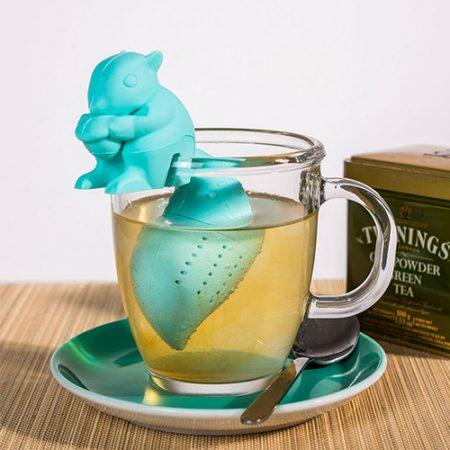 Eichhörnchen Teesieb als originelles Geschenk für Teetrinker
