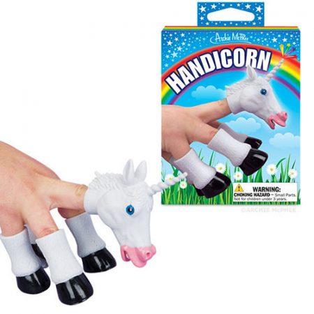 Handicorn Fingerpuppe Einhorn