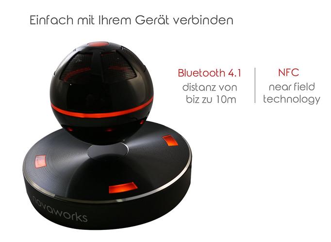 Freischwebende Lautsprecher Boxen Designermöbel stylisch