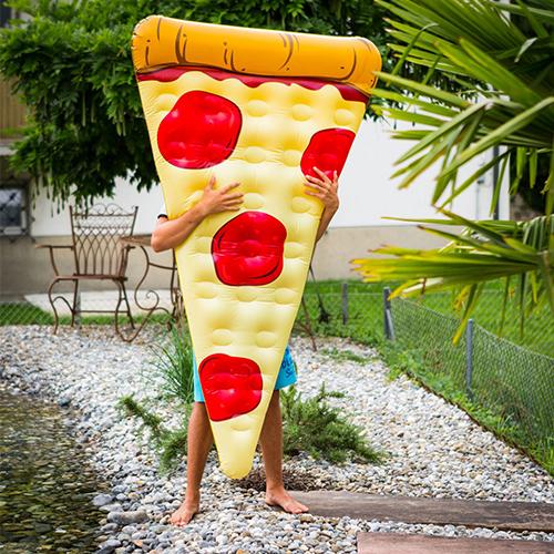 Pizza Luftmatratze als Geschenk für Menschen