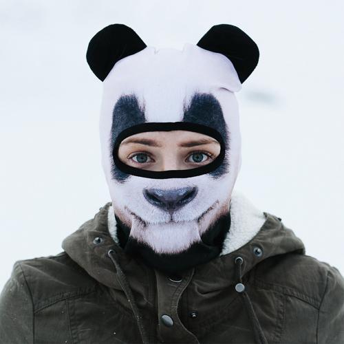 Skimaske Panda