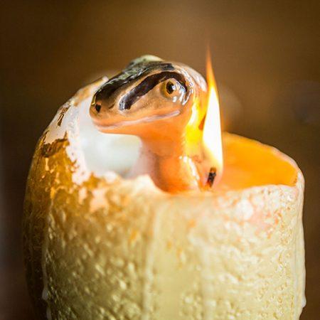 Baby Dinosaurier Ei Kerze Weihnachtsgeschenk