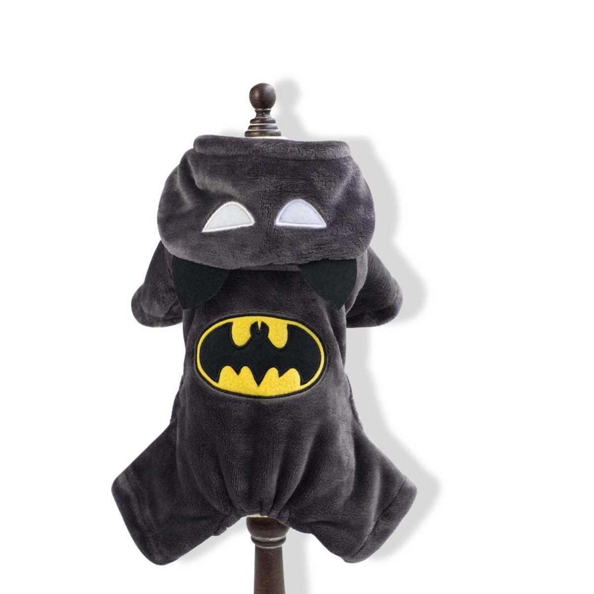 Hundekostüm Batman Rücken
