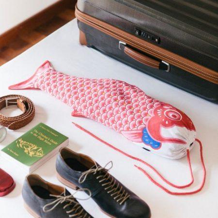 Koi Karpfen Wäschesack für die Reise Geschenk für Reiselustige