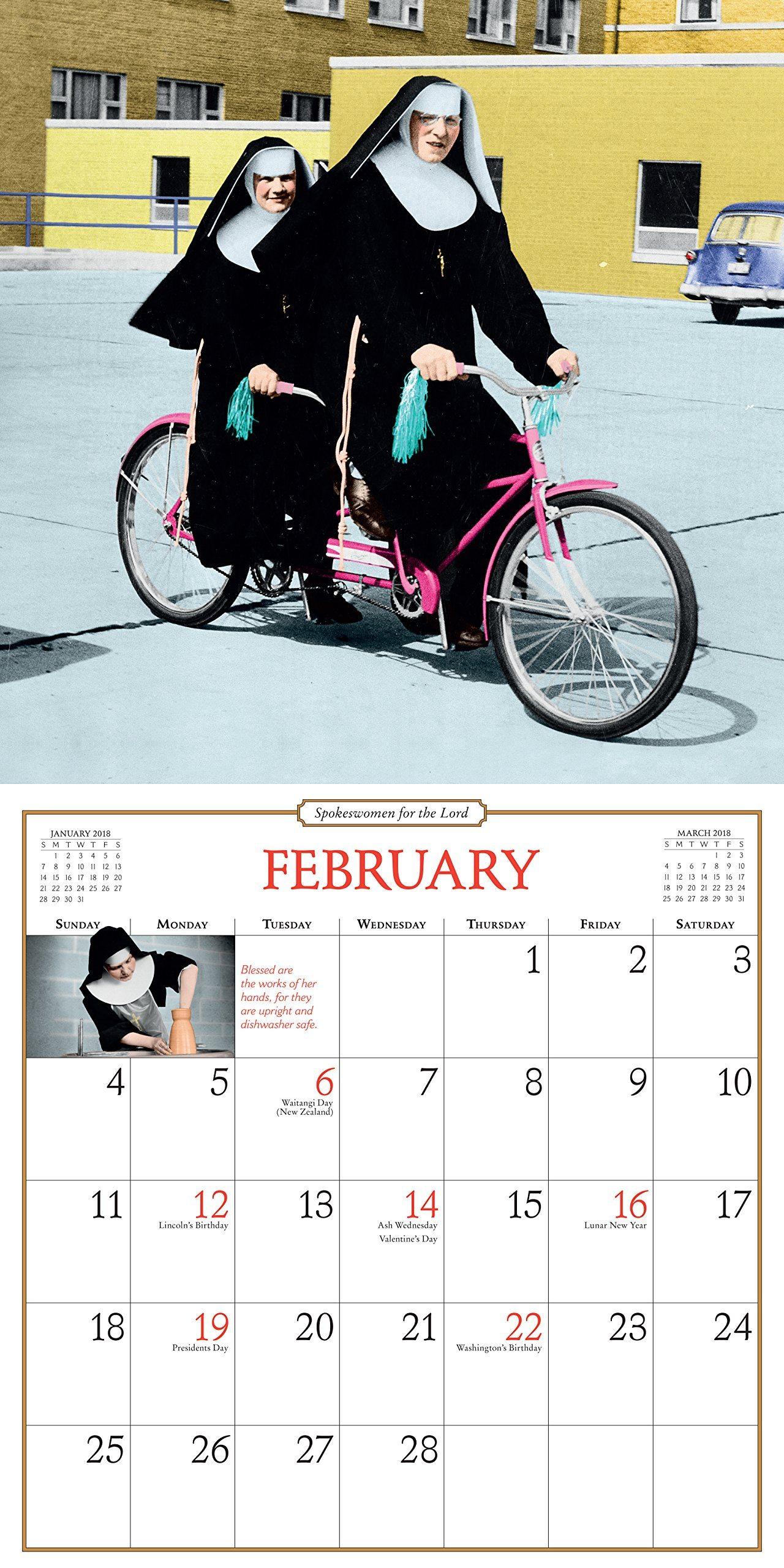 Nonnenkalender 2018 - die besten originellen Geschenke