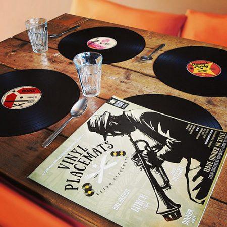 Vinyl Schallplatte Tischset