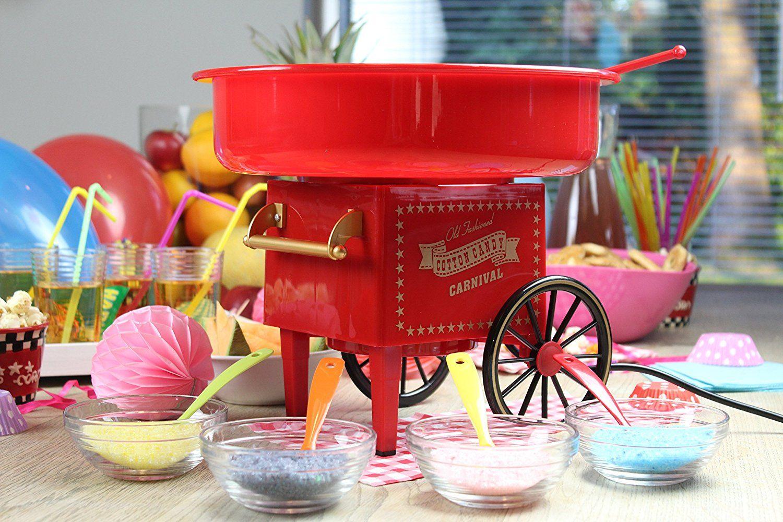 Zuckerwattemaschine - das perfekte Geschenk für Kinder