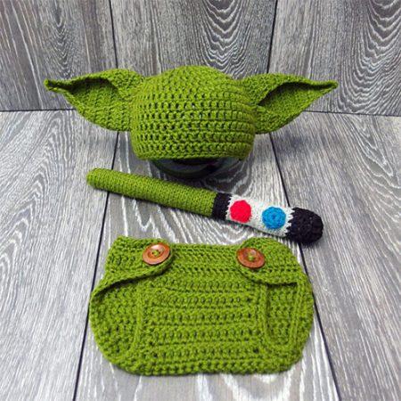 Star Wars Kostüm Baby Yoda Mütze Weihnachtsgeschenk Babys