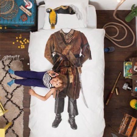 Originelle Kinder Bettwäsche Pirat