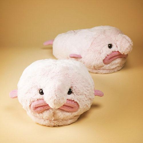 Blobfisch Hausschuhe - das perfekte Geschenk!