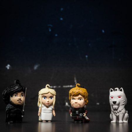 USB Stick Game of Thrones Khaleesi, Jon Snow, Tyrion Lannister & Ghost