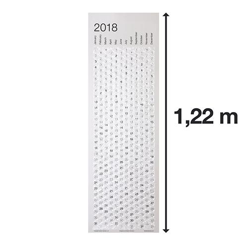 Luftpolster Kalender zum Ploppen - lustige Kalender 2018