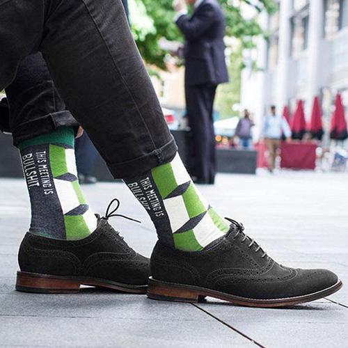 Bullshit Meering Socken Damen